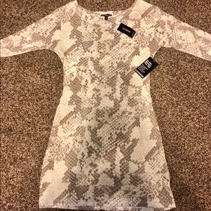 Express 3/4 length sleeve dress